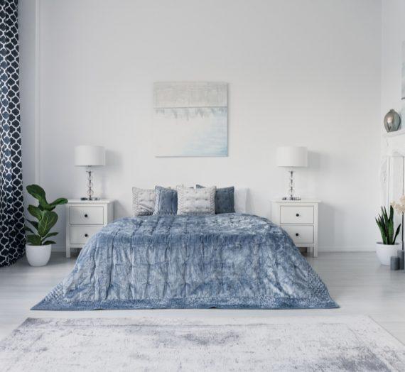 Wyjątkowa sypialnia w stylu nowojorskim